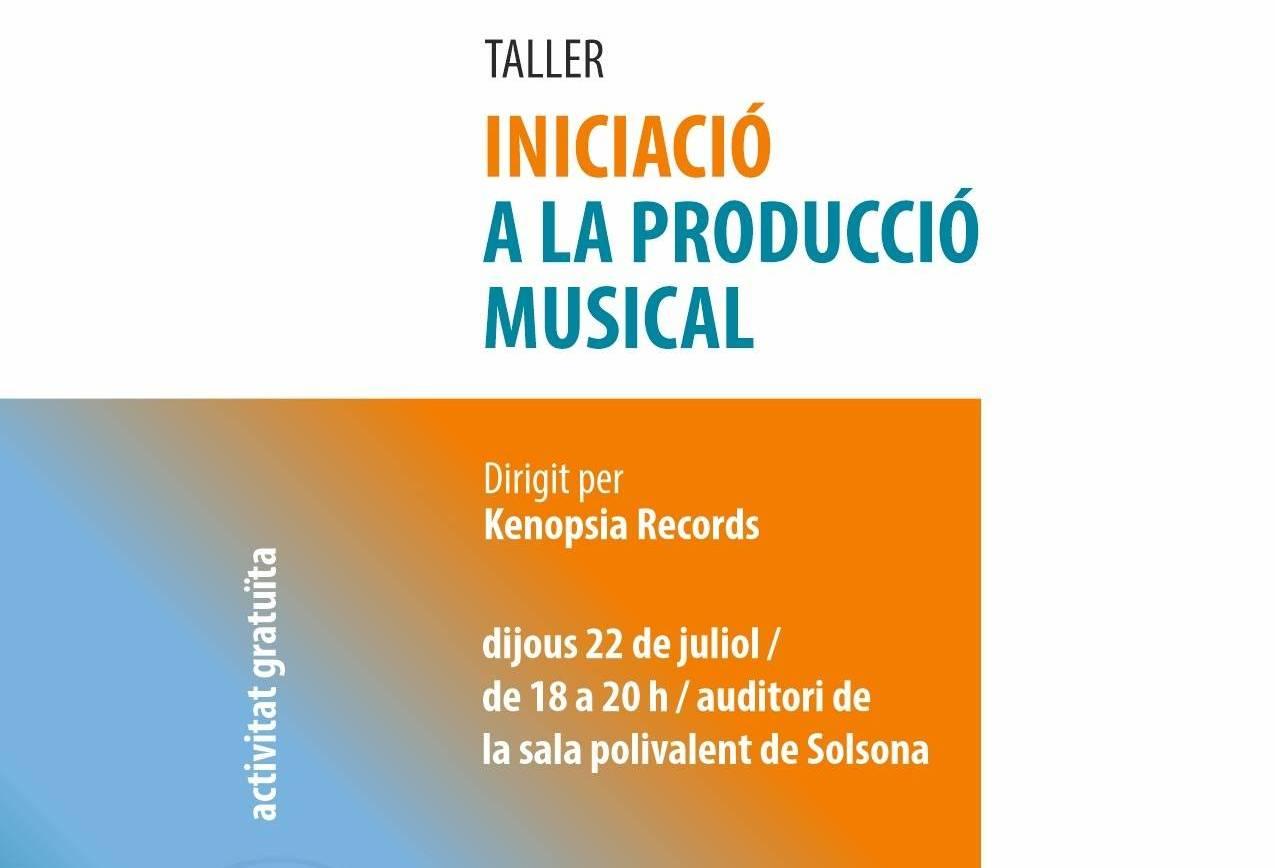 Iniciació a la producció musical